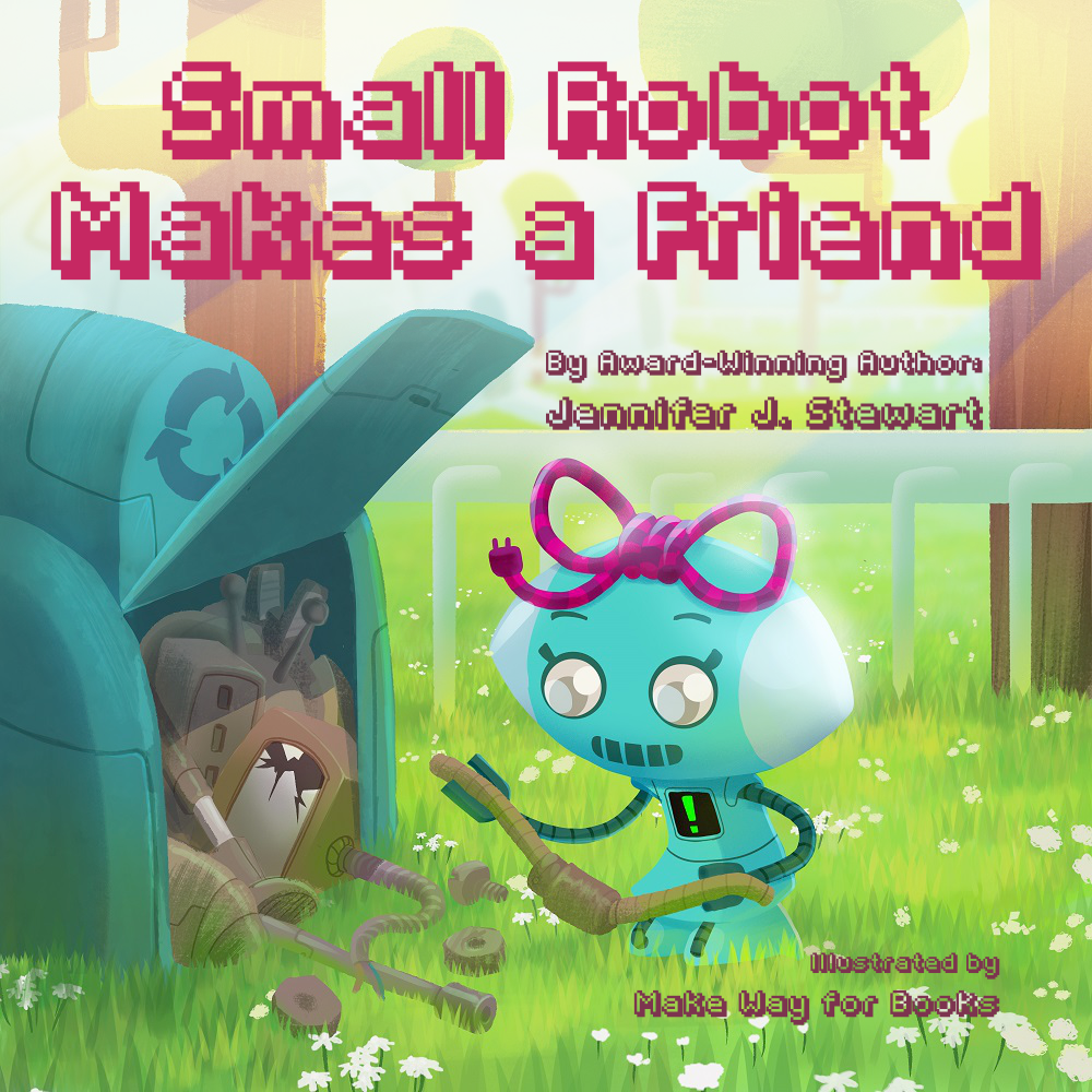 Small Robot Makes a Friend