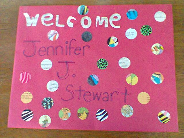Welcome Jennifer!
